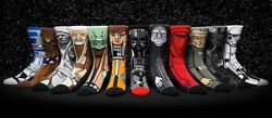 NEW Stance Star Wars Socks Darth Vader Kylo R2D2 Skywalker Imperial Empire Jedi $22.00