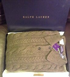 XXL Purple Label Ralph Lauren Italian cashmere wool sweater polo rugby mens 2xl