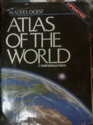 Readers Digest atlas of the world $4.73