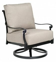 Woodard Wiltshire Rocking Patio Chair with Cushions