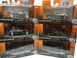 M2 Machines Camaro Fifty Hobby CAMAR001 Inner Case of 6 1:64 Scale