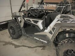 RZR 9004 Seat 15-17 Lower Door Panels (4) Tinted (See Thru) Polycarbonate)