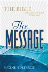 The Message: The Bible in Contemporary Language $4.38