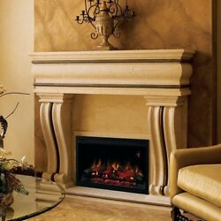 Classic Flame Builder Box Electric Fireplace Insert