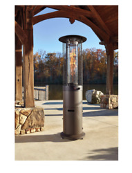 High Heat Lamp Patio Heater Fan Large Outdoor Electric for Restaurant Stainless
