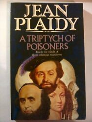 Triptych of Poisoners by Plaidy Jean Paperback Book The Fast Free Shipping