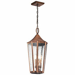 Darby Home Co Woodlawn 4-Light Outdoor Hanging Lantern