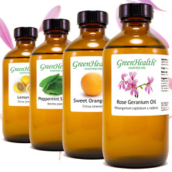 8 fl oz Essential Oil in Amber Glass Free Shipping 60 Pure Natural Oils $18.99