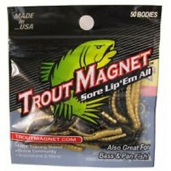 NEW   Trout Magnet   50 Pc. TM Body Pack $7.99