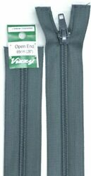 Vizzy Open End Zip 65cm Colour 63 CHARCOAL A Quality Brand Name Zipper