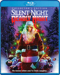 Silent Night Deadly Night Collector#x27;s Edition New Blu ray Collect $22.96