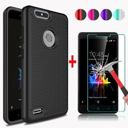 For ZTE Blade Z Max Z982 Phone Case Cover + Tempered Glass Screen Protector Film