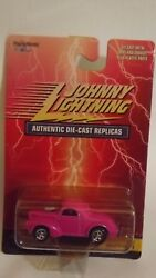 Johnny Lightning Pink 1941 Willy#x27;s Coupe Red Card Series $4.99