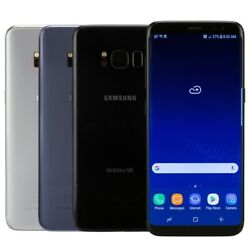 Samsung Galaxy S8 Smartphone AT&T Sprint T-Mobile Verizon or Unlocked