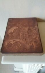 ART DECO  VINTAGE COPPER PRINTING PLATE OF A BIRD