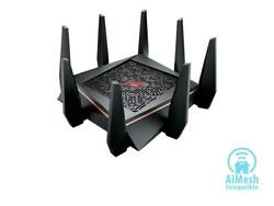 ASUS Gaming Router Tri band Wi Fi Up to 5334 Mbps for VR amp; 4K Streaming 1.8GH $299.15