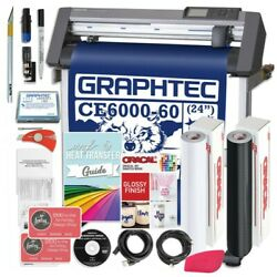 Graphtec PLUS CE6000-60 24 Inch Vinyl Cutter with Software