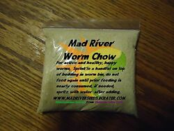 Mad River Organic Worm Chow 10 oz. For happy healthy worms FREE SHIPPING $9.99