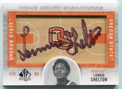 2012-13 Upper Deck Home Court Signatures SP Authentic  Auto #HC-LS Lonnie She...