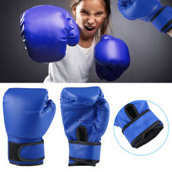 Boxing Gloves for Kids Children Training Punching Bag Kickboxing Mitts Age 3 12 $9.59