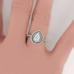 VINTAGE INSPIRED GIA Certified Radiant Diamond Engagement Ring 2.10 CTW  Plat