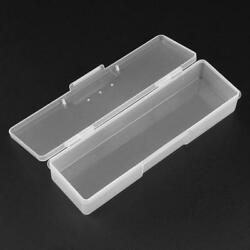 Plastic Clear Jewelry Storage Box Case Craft Organizer Bead Collection Container