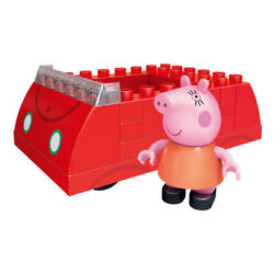 Pigs Family Toy Piggy Building Blocks Car Swing Playground Classroom House Kids $23.42