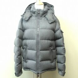 MONCLER Maya wool down gray outer Men''s accessories Free Shipping [used]