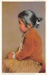 ZUYAH-CHEE NAVAHO CHILD OF NM DETROIT PHOSTINT PUB FOR FRED HARVEY c 1907-14 $9.99