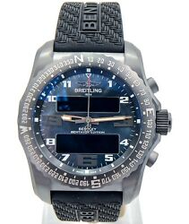BREITLING Bentley B50 MIDNIGHT CARBON BLK MOP DIAL Complete REF VB50109ube29