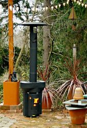 Outdoor Portable Wood Pellet Stove ~ Patio RV Camping Eco-Friendly Clean Burn