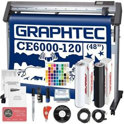 Graphtec CE6000-120 PLUS - 48 Inch Professional Vinyl Cutter & Plotter Bundle