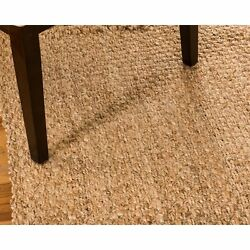 Natural Area Rugs Centre Natural Fiber Wool Handmade Area Rug - 6' x 9'