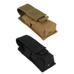 2Pcs Tactical Molle Bag Utility Tool Pouch Flashlight Belt Holster $9.20