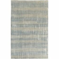 Hand-Knotted Teviot Stipe Indoor Area Rug (9' x 13')