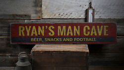 Man Cave Custom Sign Wooden Man Gift -Distressed Wooden Sign ENS1001933