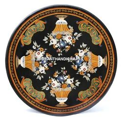 Marble Expensive Dining Restaurant Inlay Marquetry Patio Art Table Outdoor H3856