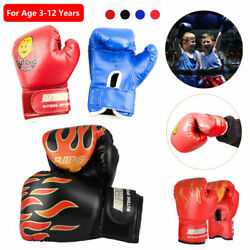 Boxing Gloves for Kids Children Training Punching Bag Kickboxing Mitts Age 3 12 $10.97