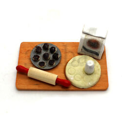 Miniature Baking Countertop for Dollhouse Kitchen 1:12 Sacle Muffin Cup Cakes $3.85
