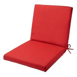 Outdoor Furniture Cushions Mid Back Patio Chair Replacement Cushion Coordinating