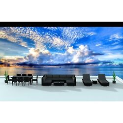 Urban Furnishing Black Series 19-piece Outdoor Dining and Sofa Sectional Patio