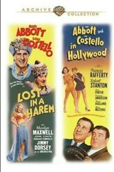 Lost in a Harem Abbott and Costello in Hollywood New DVD $19.59
