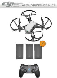 DJI Tello Drone by Ryze Tech Bundle includes 3 Batteries and Remote Controller $229.00
