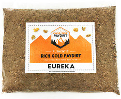 Goldn Paydirt Eureka Gold Paydirt Gold Guaranteed Free Shipping Nuggets $24.00