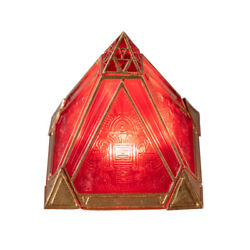Xcoser Sith Holocron Pyramid Cosplay Props with LED Resin Movie Collections Deco $16.79
