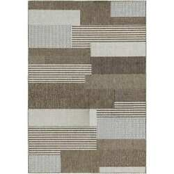 Samantha Graphic Stripe Sand IndoorOutdoor Rug - 8'6 x 13'