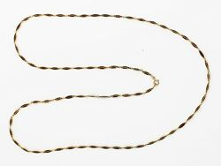 Victorian Plique-à-Jour Enamel and 18K Gold Long Link Chain Necklace