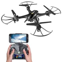 Drone with HD Wifi Camera Live Feed 4CH 6 Axis Gyro Quadcopter and Altitude Hold $88.99