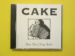 Cake Short Skirt Long Jacket Promo 2 Track CD Single $9.95