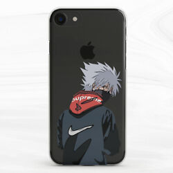 Fashion Naruto Kakashi Hatake Anime Case Cover For iPhone 6S 7 8 Xs Max XR Plus